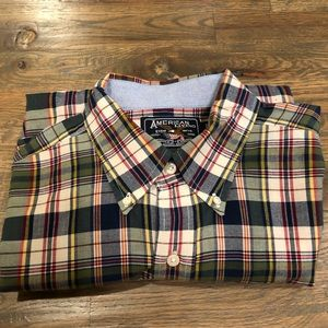 American Living button down casual shirt